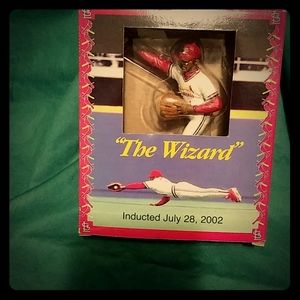 """Ozzie Smith """"The Wizard"""" sports collectible figure"""
